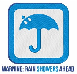 Rain Showers embroidery design