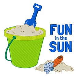 Fun In The Sun embroidery design
