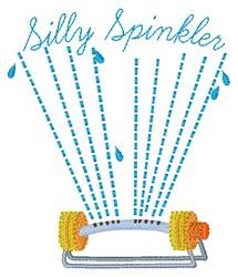 Silly Sprinkler embroidery design