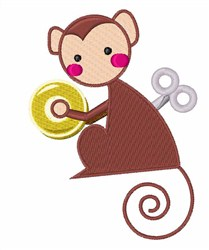 WInd Up Toy embroidery design