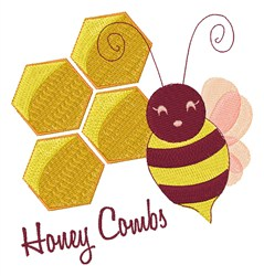 Honey Combs embroidery design