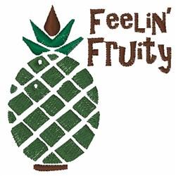 Feelin Fruity embroidery design