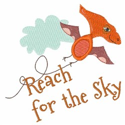 Reach For The Sky embroidery design