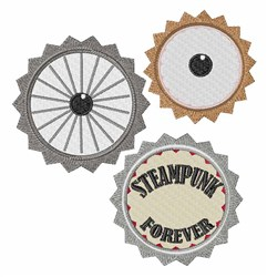 Steampunk Forever embroidery design