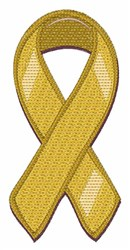 Yellow Ribbon embroidery design