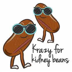Kidney Beans embroidery design