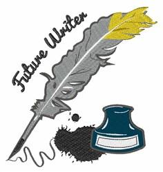 Future Writer embroidery design