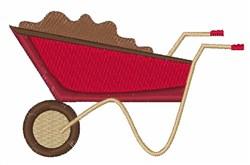 Garden Wagon embroidery design
