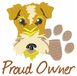 Proud Owner embroidery design