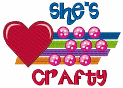Shes Crafty embroidery design