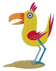Cartoon Bird embroidery design