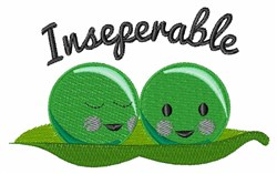 Inseperable embroidery design