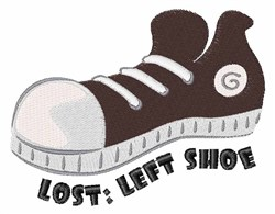 Left Shoe embroidery design