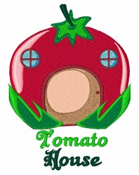 Tomato House embroidery design