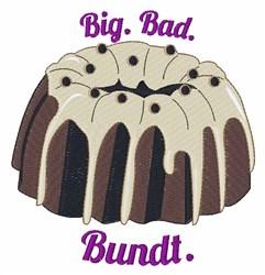 Big Bad Bundt embroidery design