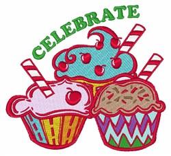 Celebrate embroidery design