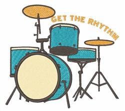 Get Rhythm embroidery design
