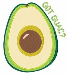 Got Guac? embroidery design