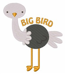 Big Bird embroidery design