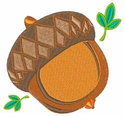 Acorn Nut embroidery design