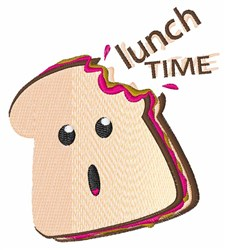 Lunch Time embroidery design