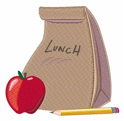 Lunch Bag embroidery design