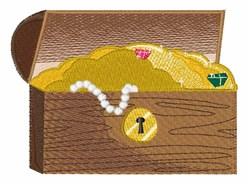 Treasure Chest embroidery design