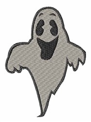 Happy Ghost embroidery design