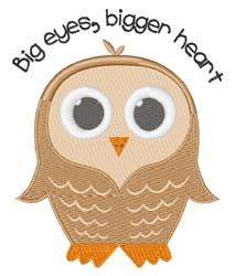 Big Eye Owl embroidery design