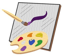 Painting Art embroidery design
