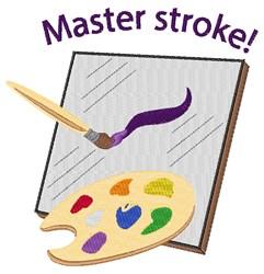 Master Stroke embroidery design