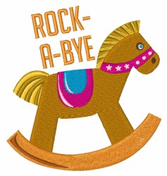 Rock A Bye embroidery design