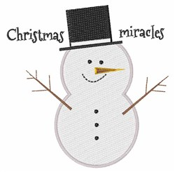 Christmas Miracles embroidery design