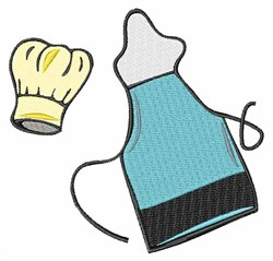 Apron & Hat embroidery design