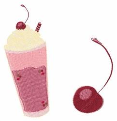 Milk Shake embroidery design