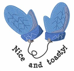 Nice And Toasty embroidery design