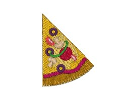 Slice Of Pizza embroidery design