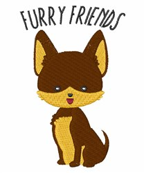 Furry Friends embroidery design