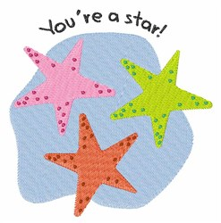 Youre A Star embroidery design