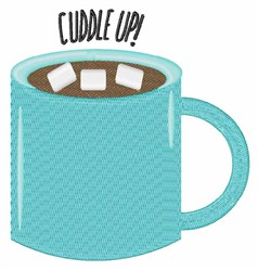 Cuddle Up embroidery design