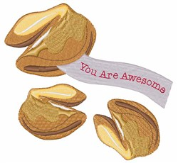 You Are Awesome embroidery design