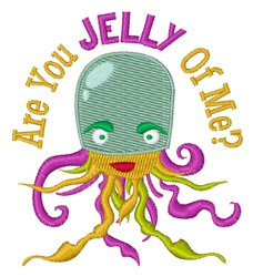 Are You Jelly embroidery design