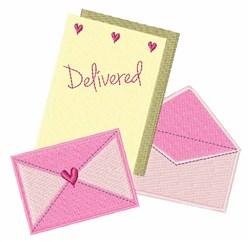 Delivered Stationary embroidery design