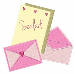Sealed Stationary embroidery design