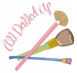 All Dolled Up embroidery design