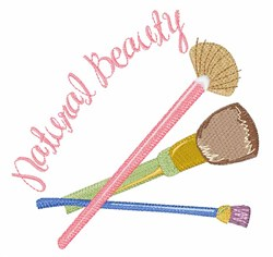 Natural Beauty embroidery design