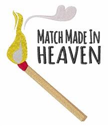 Match Heaven embroidery design
