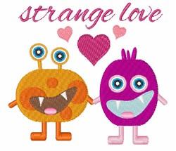 Strange Love embroidery design