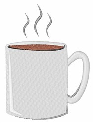 Hot Coffee embroidery design