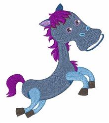 Little Pony embroidery design